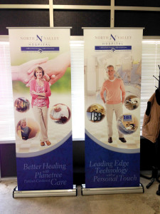 North-Valley-Hospital-Retractable-Banner-Stands