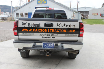 Parsons Tractor Tailgate