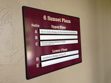 Sunset Plaza Directory