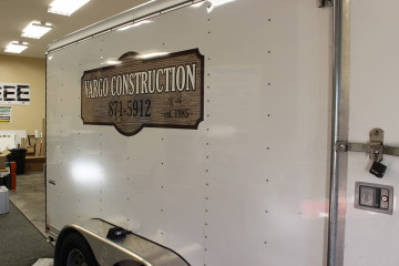Vargo-Construction Trailer graphic
