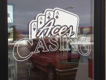 Aces Casino Window